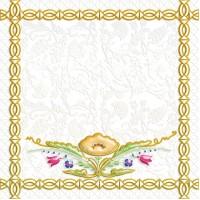 Декор 04-01-1-14-03-00-281-2 Замоскворечье Многоцветный 20х20 Ceramique Imperiale