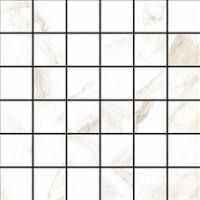 Мозаика 72775 Calacatta Mosaico 4.7x4.7 Puro Levigato 30x30 Cerdomus