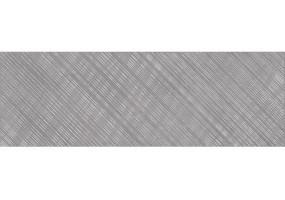Вставка AS2U092DT Apeks линии B серый 25x75 Cersanit