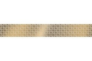 Бордюр UG1A061 Universal Glass спецэлемент стеклянный желтый 4.8x60 Cersanit