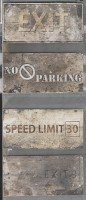 Керамогранит 1048421 New York Road Signs Mix Broadw 10x20 Cir Ceramiche