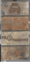 Керамогранит 1048422 New York Road Signs Mix Centra 10x20 Cir Ceramiche