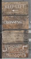 Керамогранит 1048423 New York Road Signs Mix Chelse 10x20 Cir Ceramiche