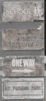 Керамогранит 1048426 New York Road Signs Mix Wall S 10x20 Cir Ceramiche