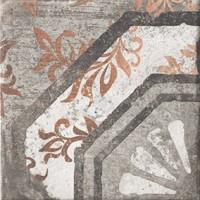 Керамогранит 1050880 Recupera Ins.Anna Grafite 20x20 Cir Ceramiche