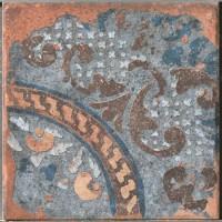 Керамогранит 1050881 Recupera Ins.Brunilde Natural 20x20 Cir Ceramiche