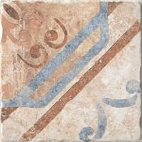 Керамогранит 1050883 Recupera Ins.Rebecca Bianco 20x20 Cir Ceramiche