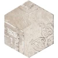 Керамогранит 10510231 Recupera Es.Romantica Bianco 24x27.7 Cir Ceramiche