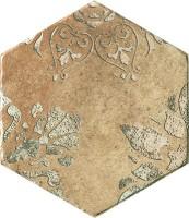 Керамогранит 10510261 Recupera Es.Flora Ocra 24x27.7 Cir Ceramiche