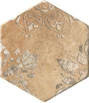 Керамогранит 1051026 Recupera Es.Flora Ocra Sfusa 24x27.7 Cir Ceramiche
