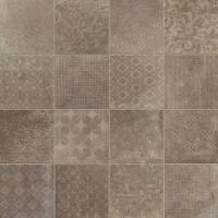 Керамогранит 1046723 Riabita Il Cotto Fabric Feng Shui 10x10 Cir Ceramiche