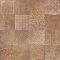 Керамогранит 1046731 Riabita Il Cotto Fabric Classic 20x20 Cir Ceramiche