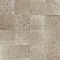 Керамогранит 1046738 Riabita Il Cotto Fabric Natural 20x20 Cir Ceramiche