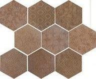 Керамогранит 1047248 Riabita Il Cotto Esag.Fabric Classic S 24x27.7 Cir Ceramiche