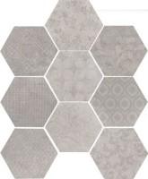 Керамогранит 10472501 Riabita Il Cotto Esag.Fabric Minim 24x27.7 Cir Ceramiche