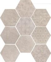 Керамогранит 10472521 Riabita Il Cotto Esag.Fabric Shabby 24x27.7 Cir Ceramiche