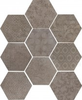 Керамогранит 10472531 Riabita Il Cotto Esagona Fabric Feng 24x27.7 Cir Ceramiche