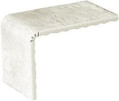 Декор 1040684 Underground Elem.L White Line 8.6x11x15 Cir Ceramiche