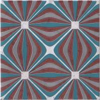 Декор 1060980 Venezia Ins.Griccia Lamp.Mq 20x20 Cir Ceramiche