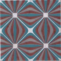Декор 1060981 Venezia Ins.Griccia Lamp.Pz 20x20 Cir Ceramiche