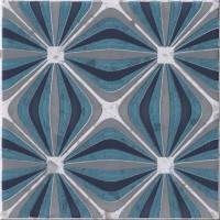 Декор 1060983 Venezia Ins.Griccia Turc.Pz 20x20 Cir Ceramiche
