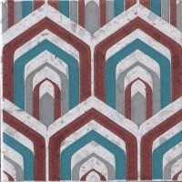 Декор 1060984 Venezia Ins.Pavona Lamp.Mq 20x20 Cir Ceramiche