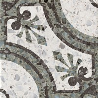 Керамогранит 1059944 Venezia La Fenice Verde 20x20 Cir Ceramiche