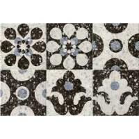 Керамогранит 1059947 Venezia Ca'foscari Blu Mix 20x20 Cir Ceramiche