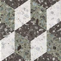 Керамогранит 1060048 Venezia Rialto Verde 20x20 Cir Ceramiche