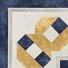 Декор 1036767 Viaemilia Angolo Greca Fes.B/Bl Pz 20x20 Cir Ceramiche