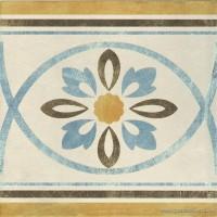 Декор 1036803 Viaemilia Greca Riv.Fiore Cr.Pz 20x20 Cir Ceramiche