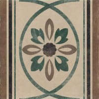 Декор 1036806 Viaemilia Greca Riv.Fiore To.Pz 20x20 Cir Ceramiche