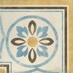 Декор 1036807 Viaemilia Angolo GrecaRiv.Fio.Cr.Pz 20x20 Cir Ceramiche