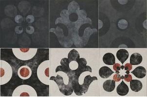 Декор 1036813 Viaemilia Inserto Canali S/6 Gr.Pz 20x20 Cir Ceramiche