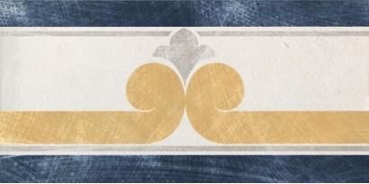 Декор 1036820 Viaemilia Fascia B/Bl 10x20 Cir Ceramiche