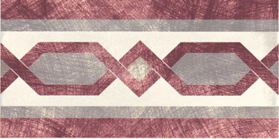 Декор 1036825 Viaemilia Fascia Itala Crema 10x20 Cir Ceramiche
