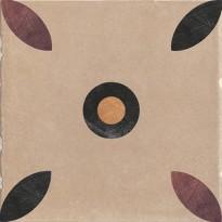 Декор 1036864 Viaemilia Inserto Mauriz.Tortora Mq 20x20 Cir Ceramiche