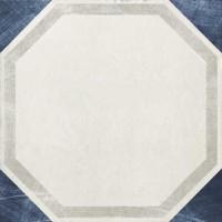 Декор 1036871 Viaemilia Inserto S/1 Bi/Bl Mq 20x20 Cir Ceramiche
