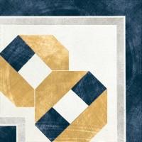 Декор 1036883 Viaemilia Angolo Greca Fes.B/Bl Mq 20x20 Cir Ceramiche