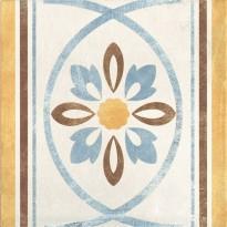 Декор 1036894 Viaemilia Greca Riv.Fiore Cr.Mq 20x20 Cir Ceramiche