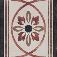 Декор 1036895 Viaemilia Greca Riv.Fiore Gr.Mq 20x20 Cir Ceramiche