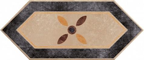 Керамогранит 1041182 Viaemilia Losanga Mauriz.Tortor 14x34 Cir Ceramiche