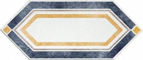 Керамогранит 1041186 Viaemilia Losanga Viaem.Bi/Bl P 14x34 Cir Ceramiche