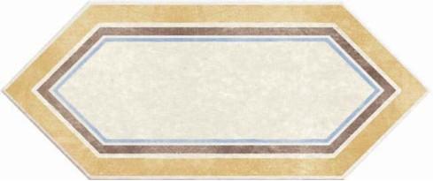 Керамогранит 1048624 Viaemilia Losanga Riv.Crema Mq 14x34 Cir Ceramiche