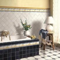 Декор 1036867 Viaemilia Angolo Mauriz.Crema Mq 20x20 Cir Ceramiche