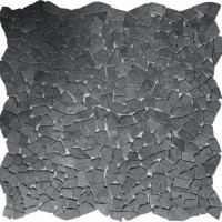 Мозаика настенная CV20255 Natural Mix Tumbled Black 30.5x30.5 Colori Viva