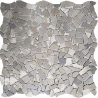 Мозаика настенная CV20256 Natural Mix Tumbled Snow Gray 30.5x30.5 Colori Viva