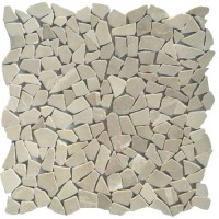 Мозаика настенная CV20258 Natural Mix Tumbled Cream 30.5x30.5 Colori Viva