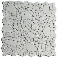 Мозаика настенная CV20259 Natural Mix Tumbled Cream Random 30.5x30.5 Colori Viva