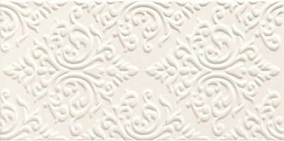 Декор Delice white Str 22.3x44.8 Domino